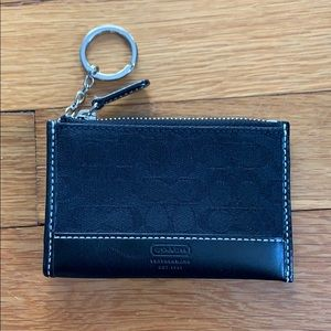 Coach NEW Black Wallet